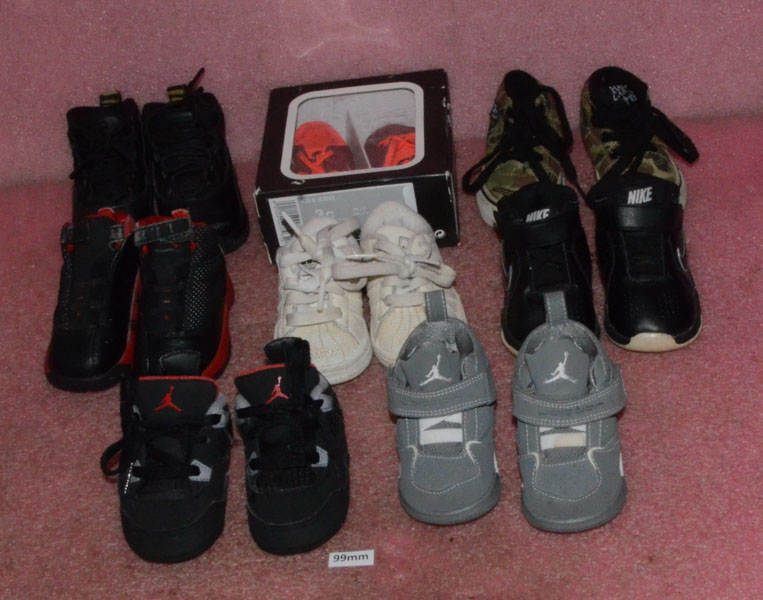 Sizes Lot 3c 4k 5c Of Shoes Nike Details 0 8 Infant 4 About 4c Vans Toddler Jordan Adidas WdorBeCx