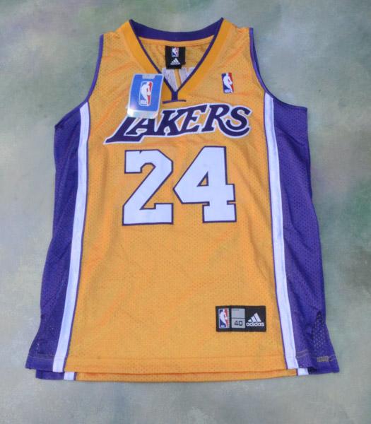 Adidas Kobe Bryant 24 Los Angeles Lakers NBA Trikot wie neu