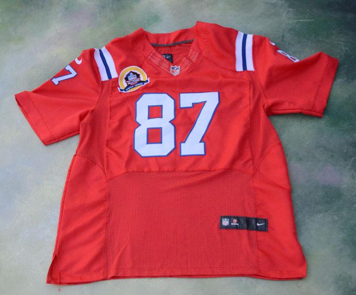 Nike NFL Pro-Football Hall Of Fame Rob Gronkowski #87 Jersey Size ...