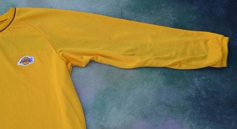 46294332973 Details about Vintage Nike NBA Los Angeles Lakers Long Sleeve Warm Up Jersey  Size XL.