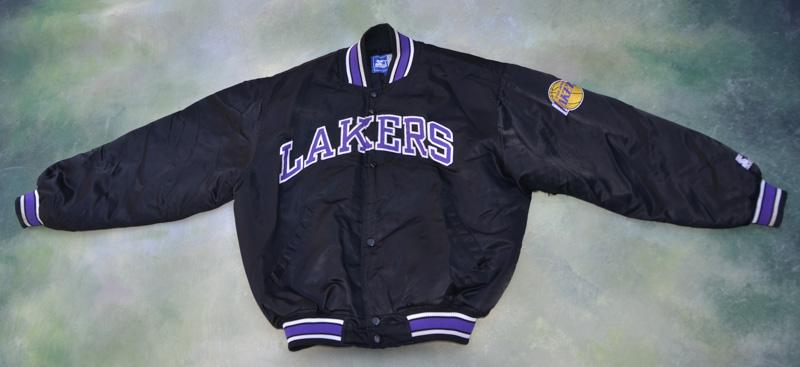Vintage Starter Nba Los Angeles Lakers Jacket Size M Ebay