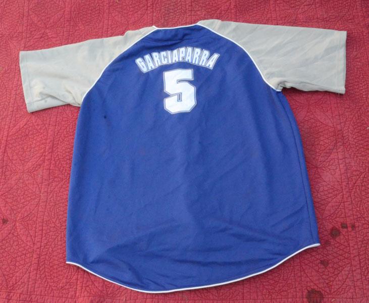 df916411077 Vintage True Fan Los Angeles Dodgers Garciaparra  5 Jersey Size 2XL ...