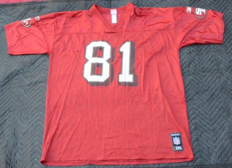 9f9f2a723 Details about Reebok NFL San Francisco 49ers Terrell Owens #81 Jersey Size  2XL.