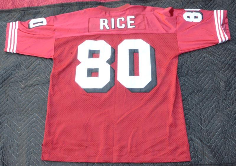 a65eb90d Details about Jeff Hamilton Ltd Edition NFL San Francisco 49ers #80 Jerry  Rice Jersey Size 3XL