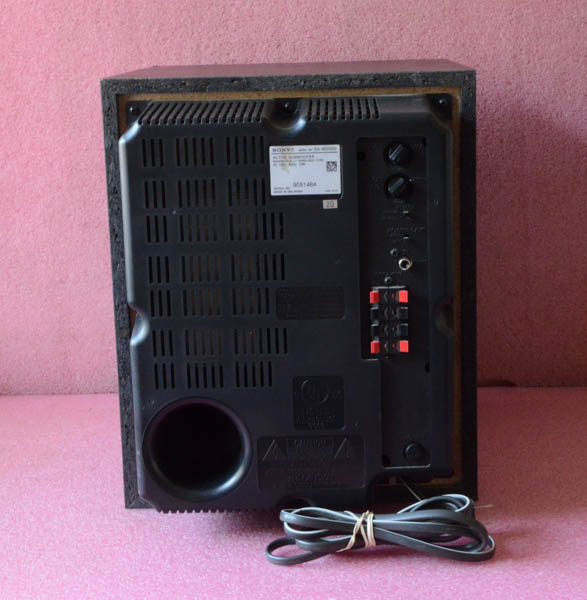 Sony Active Subwoofer Model SA-W2500.