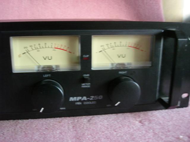 Optimus Stereo Amplifier 250 Watt Model Mpa